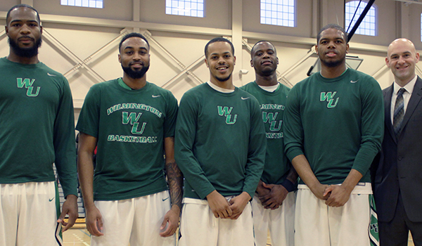 Slow Start Dooms Wilmington Men's Basketball, 75-71, Spoiling Senior Day against Caldwell