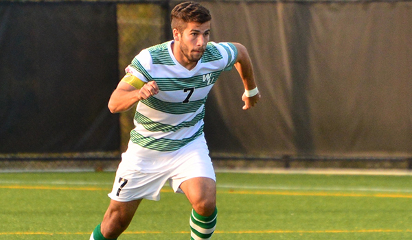 Offense Erupts for Wilmington Men's Soccer in 8-0 CACC Victory over Nyack