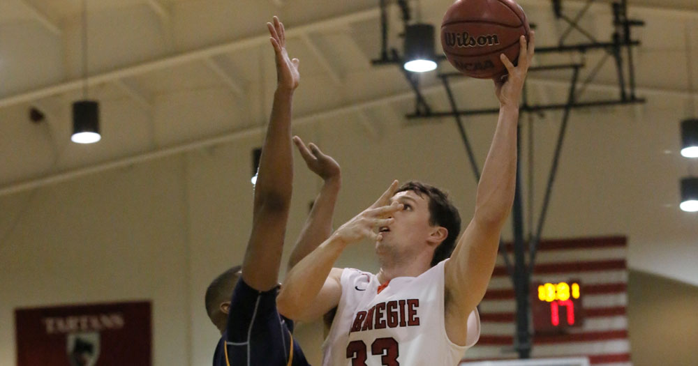 Shkil Records First Career Double-Double in Tartans Heartbreaking Setback at Heidelberg