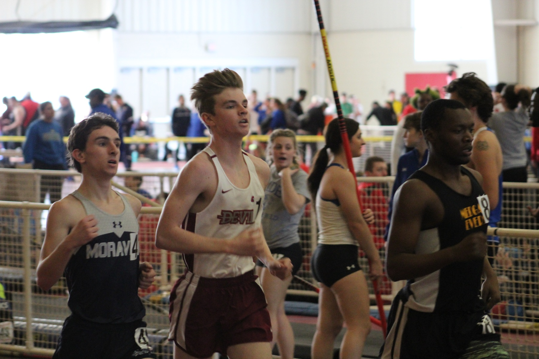 Three Devils Run Collegiate Bests; Men's Track and Field Closes Winter Season at Armory Last Chance Meet