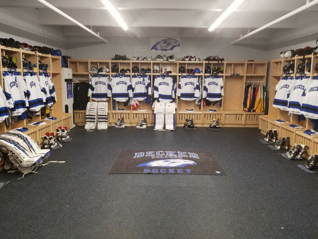 Hockey Locker room