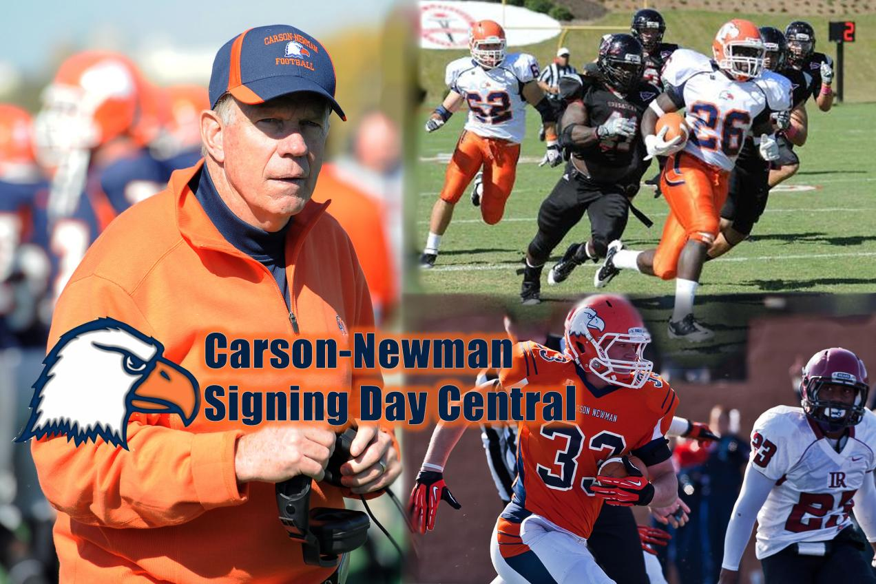 Carson-Newman Football Signing Day Central