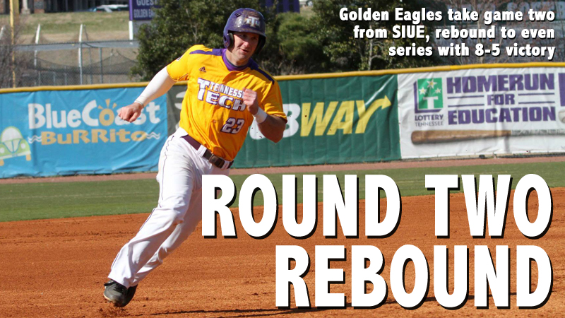 Golden Eagles even SIUE series with 8-5 victory Saturday
