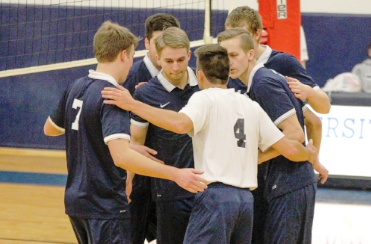 Men's Volleyball: #14 Rivier downs #10 Kean University in straight sets