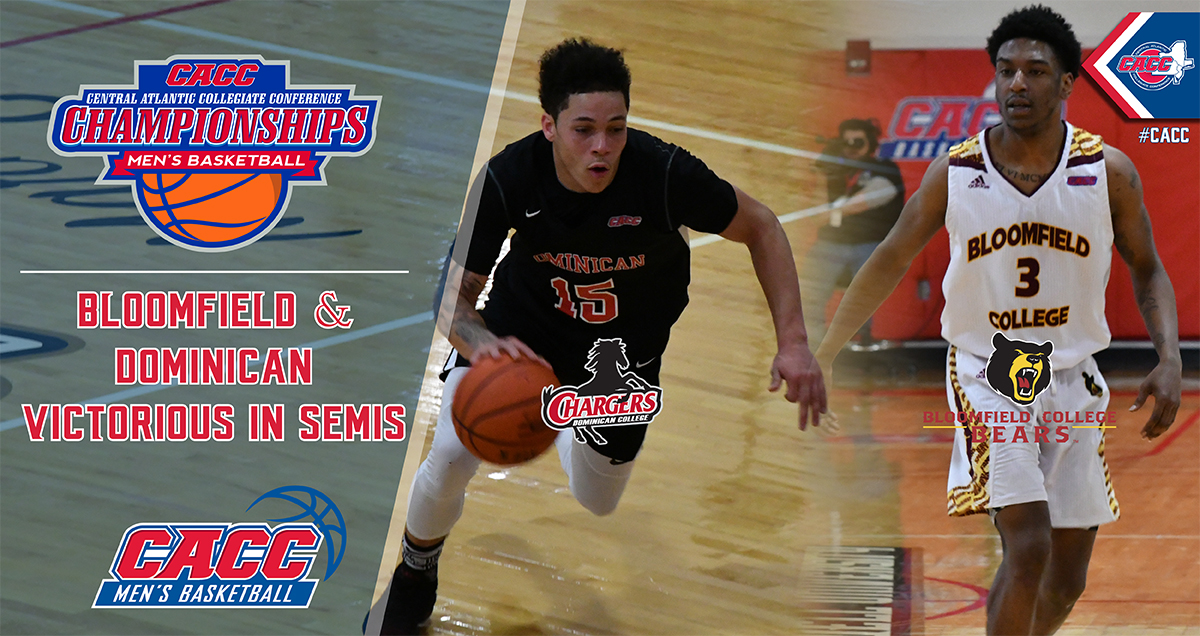 Bloomfield & Dominican to Meet Sunday in CACC MBB Championship Final Following Victories on Saturday in the Semis