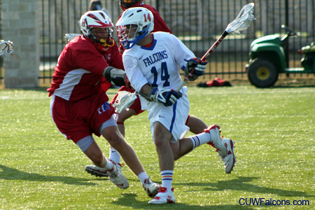 Dahms leads Men's Lacrosse to defeat of Carthage