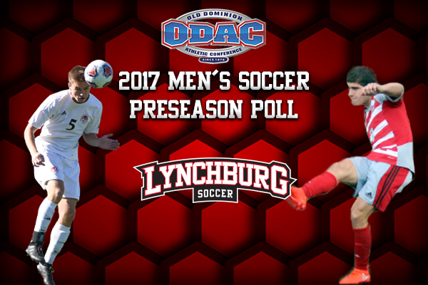 Lynchburg men's soccer was picked second in the preseason ODAC coaches' poll.