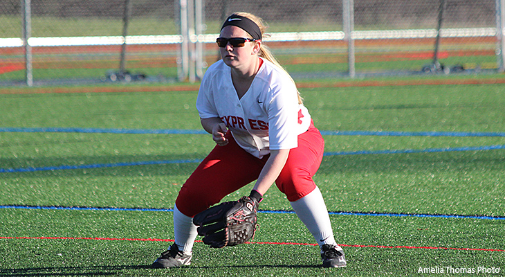 Wells Softball Splits With Cobleskill