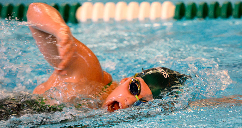 @DubC_Swimming women open OAC champs with a bang