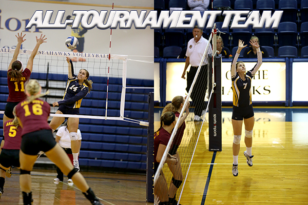 St. Mary's Volleyball Takes One on Final Day of WLU Invitational