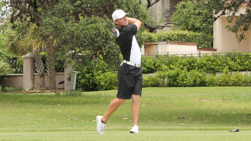 MEN'S GOLF SURGES INTO THIRD PLACE OF AMERICA SKY CHAMPIONSHIP