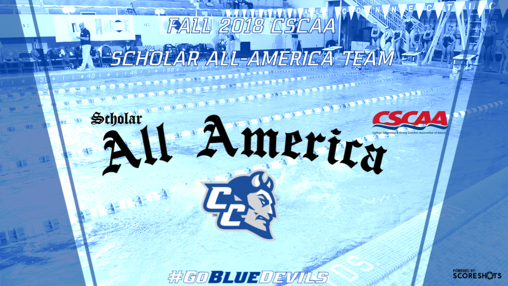 Women's Swimming & Diving Honored for Academic Success