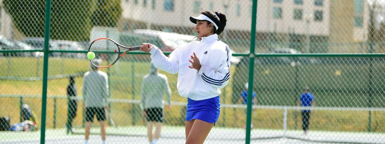 Goucher College Women's Tennis Upended By Moravian In Landmark Conference Semifinals