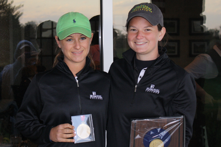 Morgan Koopman and Jennie Weiner, 2011 All-Centennial Conference