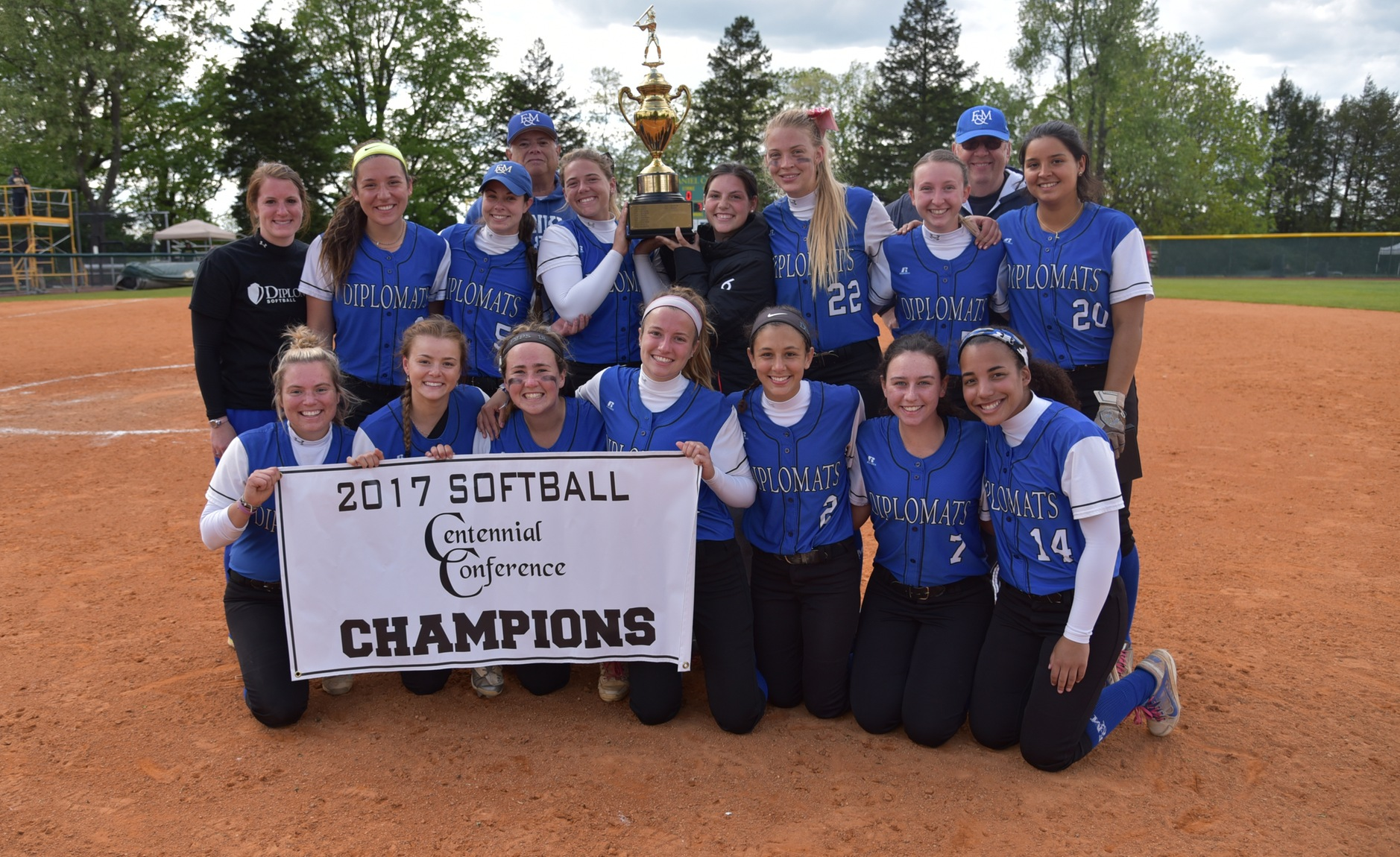 Diplomats Dodge Bullets to Claim First CC Championship