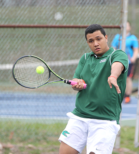 Sage falls to Gryphons in Skyline Men's Tennis action