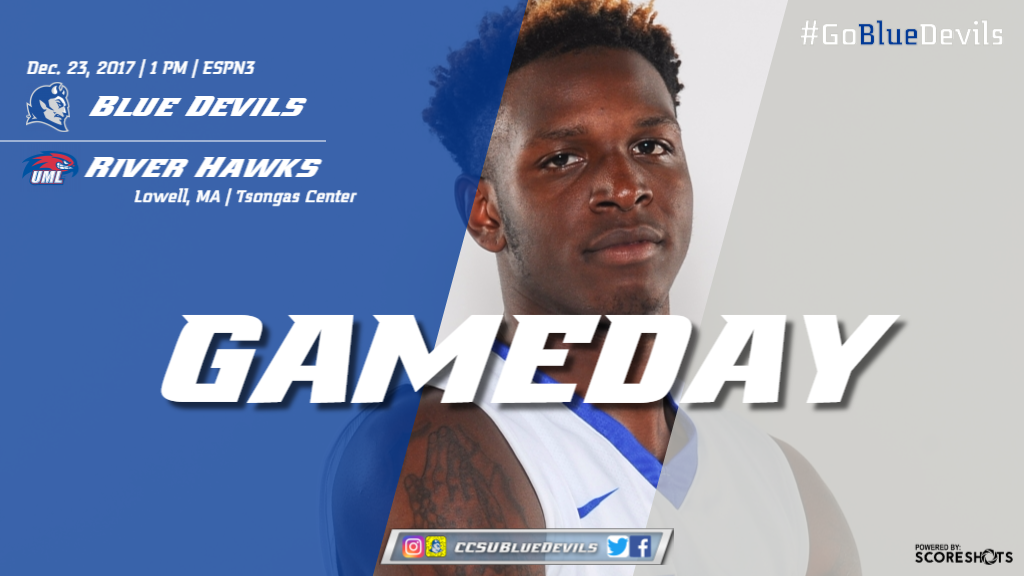 Men's Basketball Closes Non-Conference Slate at UMass Lowell Saturday