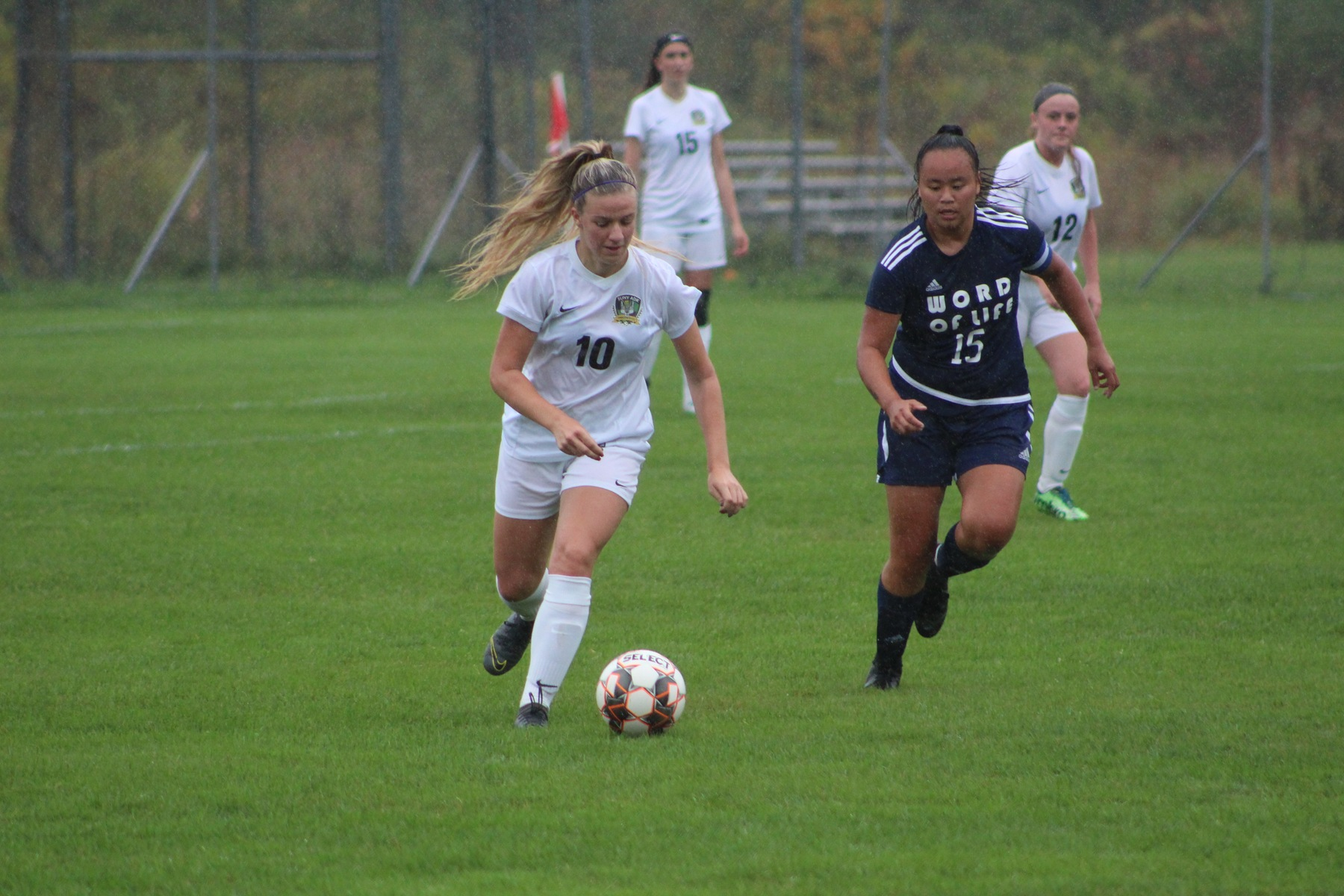 Women's Soccer Force Tie with Davis College