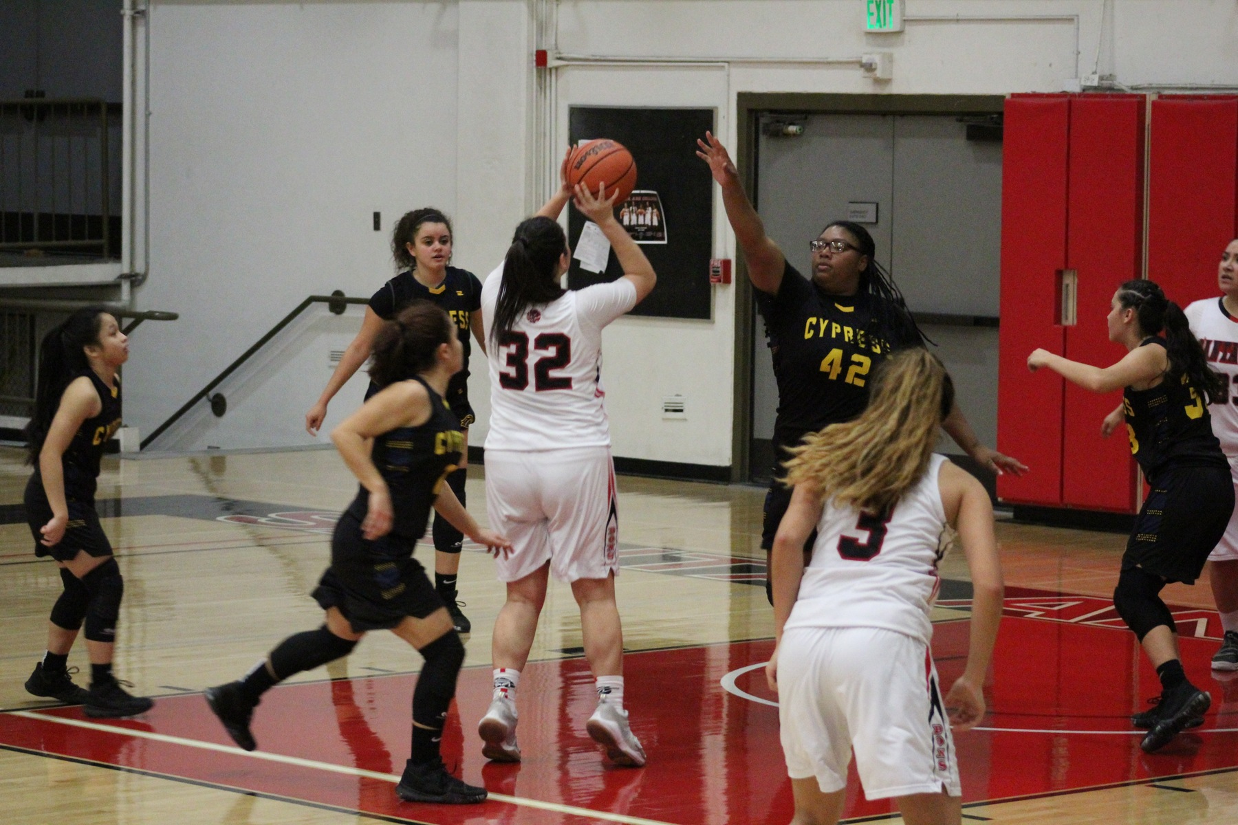 Santa Ana Falls Short in OEC Matchup Against Cypress