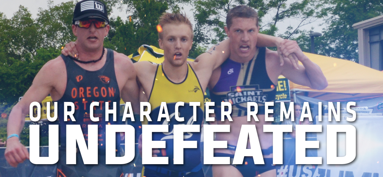 Embrace The Impact: Spencer Ralston's Act of Sportsmanship Helps Athlete Finish USA Triathlon Club National Championship