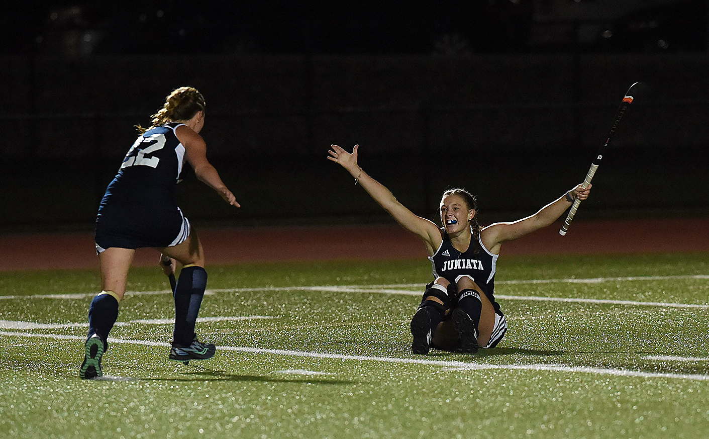Field Hockey Triumph's in OT to Earn First Win of the Year