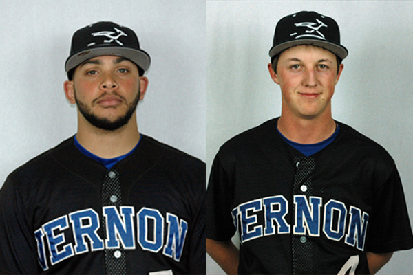 NTJCAC Baseball Players of the Week (March 26 - April 1)