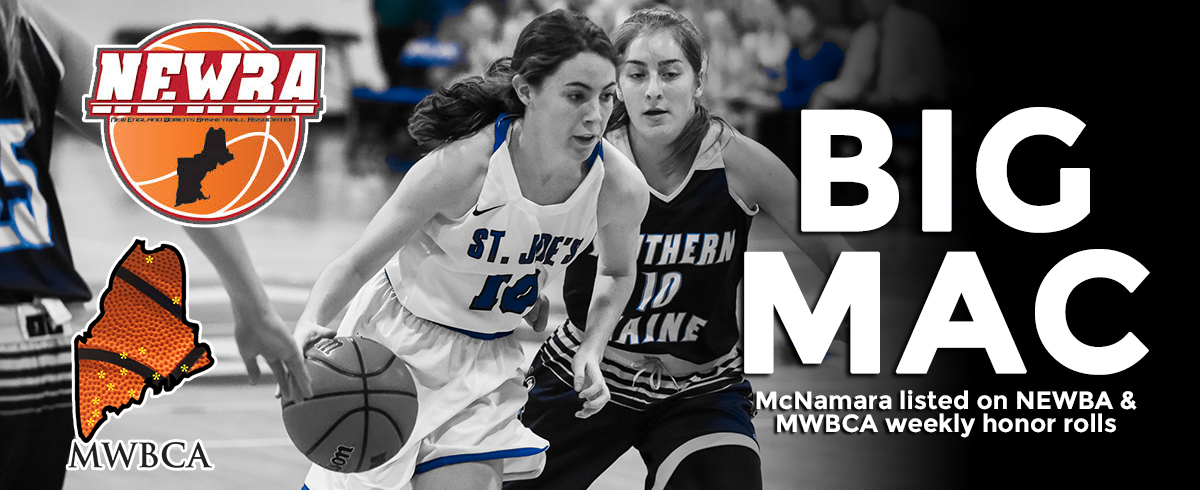 McNamara Listed on NEWBA & MWBCA Weekly Honor Rolls