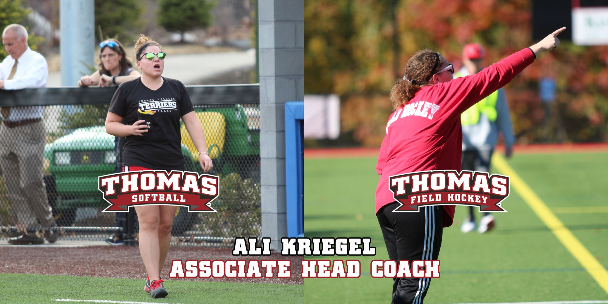 Kriegel Promoted to Field Hockey and Softball Associate Head Coach