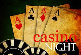 Casino night graphic