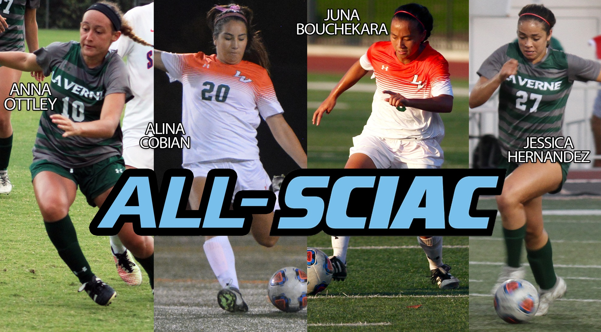 Four Leopards Named All-SCIAC