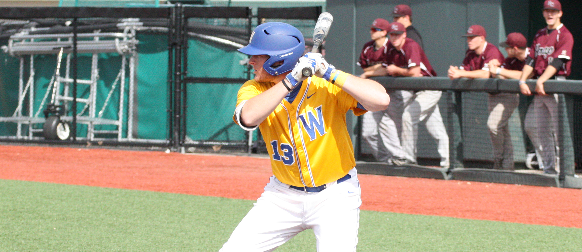 Western New England and Ramapo combined for 34 runs and 36 hits in Thursday's NCAA Tournament contest at UMass Boston. (Photo by Jeff Rosenblatt)