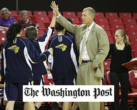 GU women's basketball featured in the Washington Post