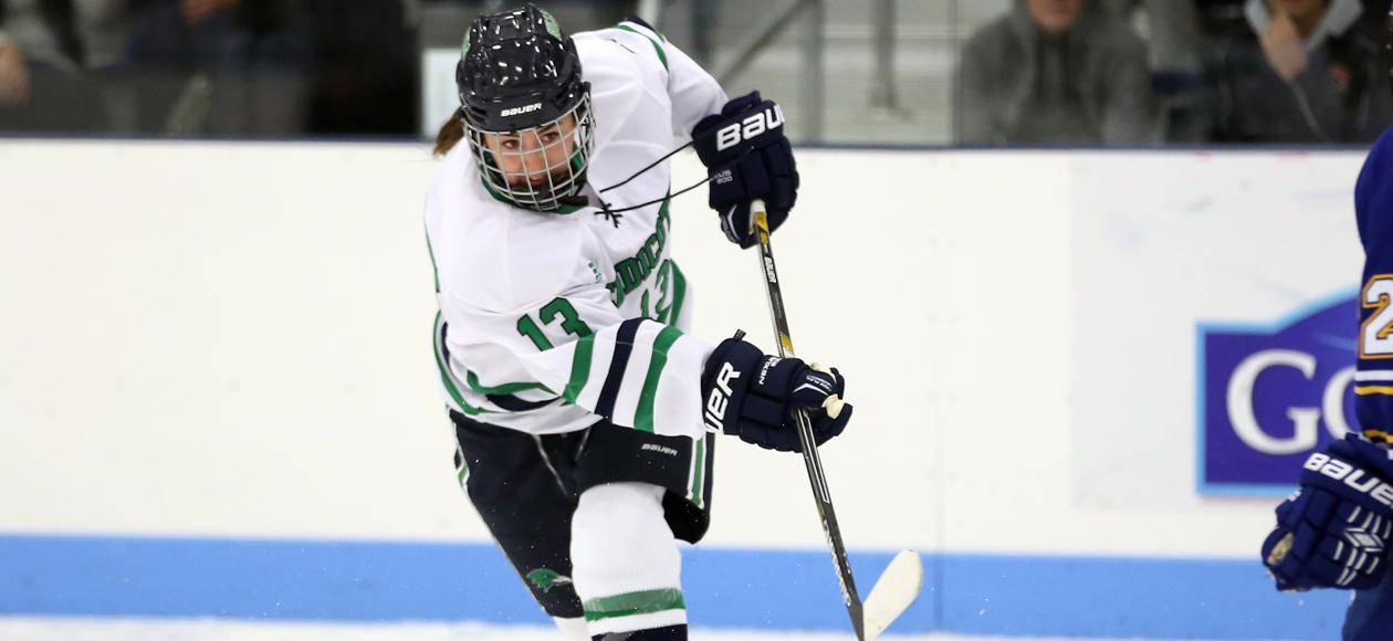 Women's Ice Hockey Downs Becker, 5-1