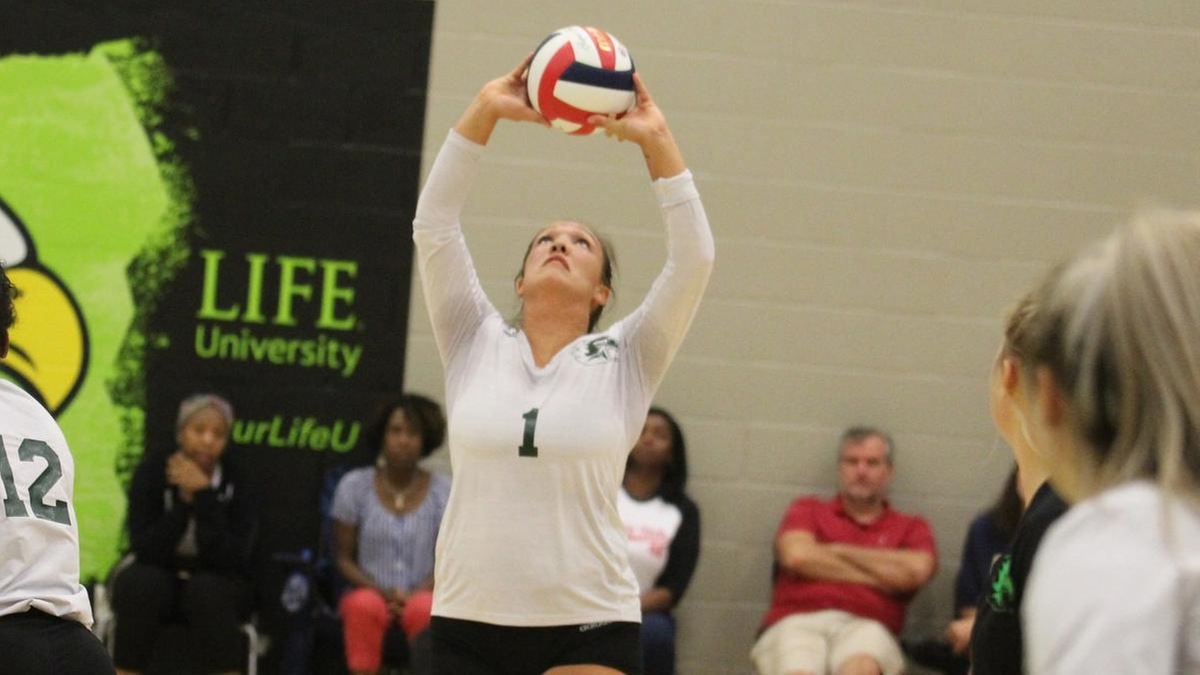 NAIA - Women's Volleyball - Player of the Week - Taylor Parrish - Life (Ga.)
