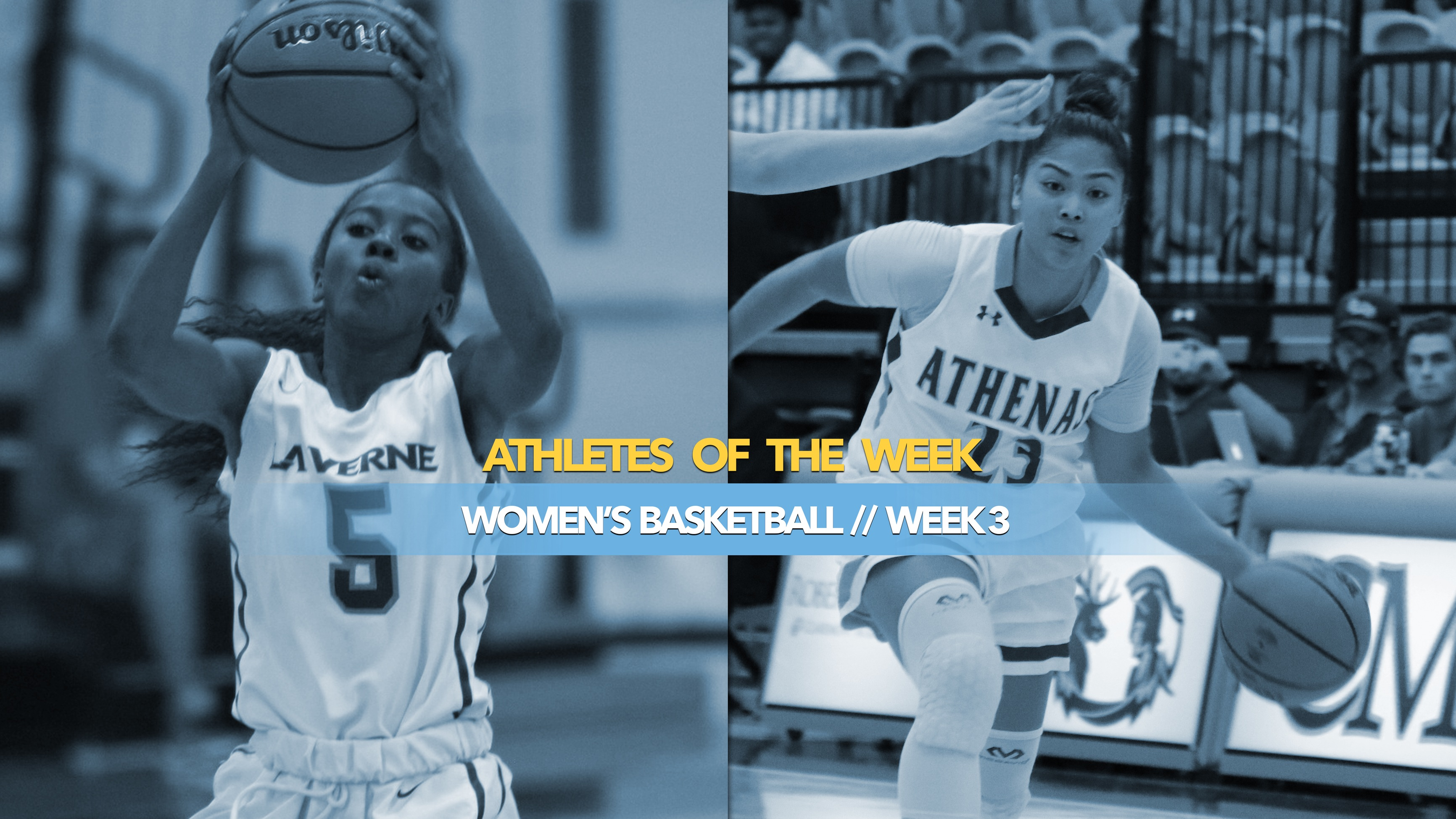 Women's Basketball Athletes of the Week: November 25, 2019