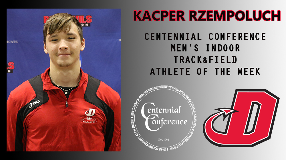 Rzempoluch Named CC Track & Field Athlete of the Week