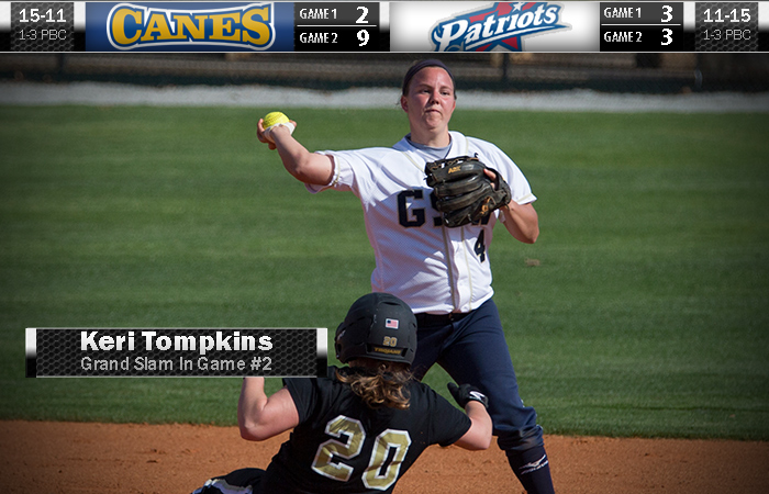 Tompkins Takes On Patriots In Series Split