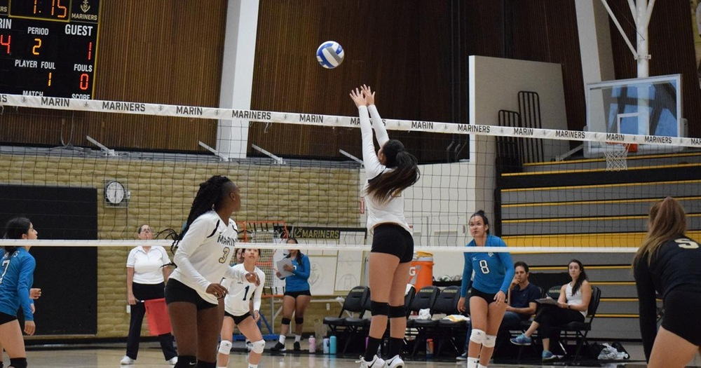 Shorthanded Volleyball Falls To Mendocino In Five Sets