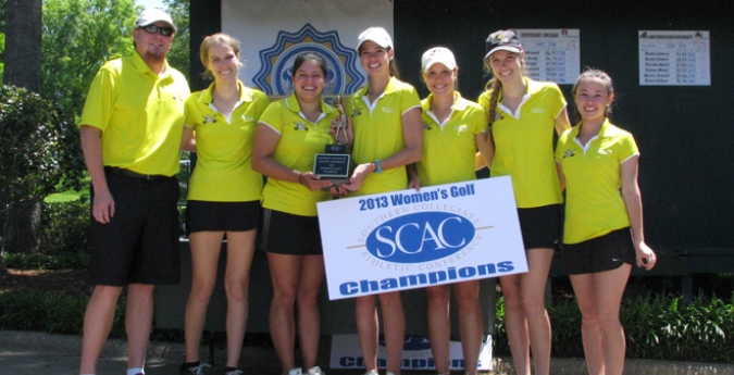 Women's Golf Captures Sixth SCAC Title