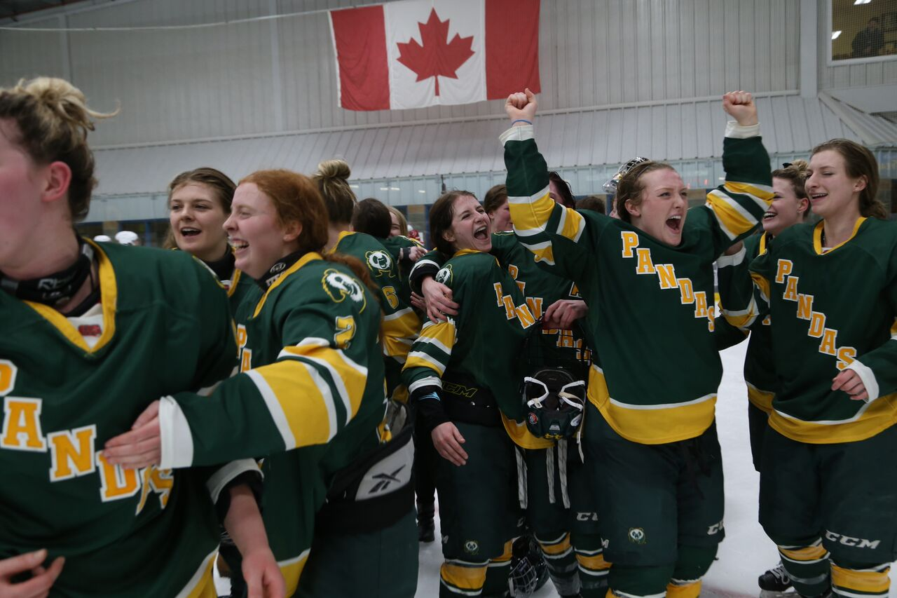 2017 U SPORTS Champions Series: Young Pandas bring home eighth national women's hockey title back to Alberta
