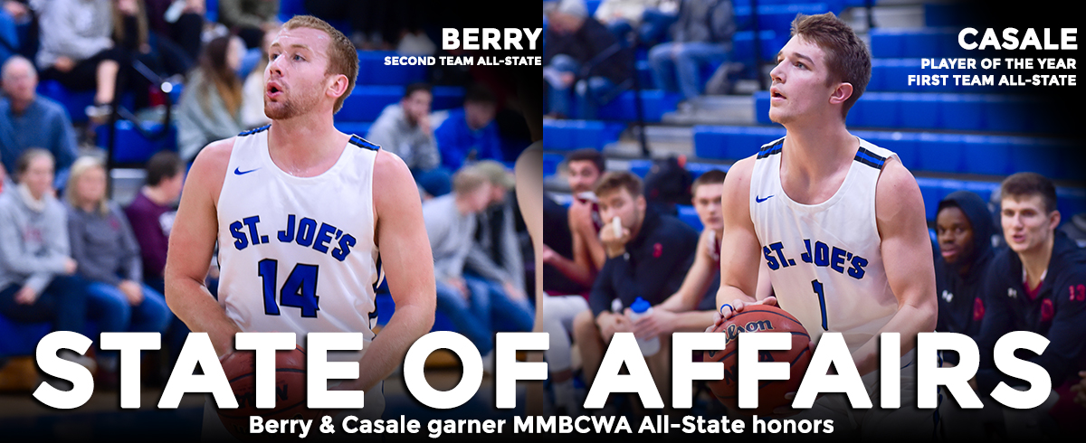 Casale Named Maine Player of the Year, Berry Earns Second Team Honors