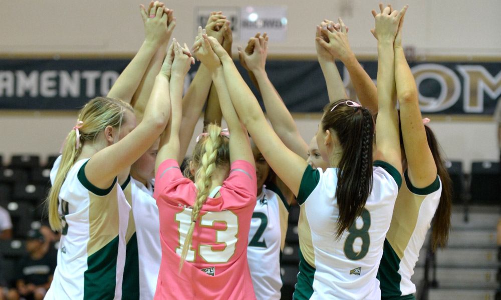 VOLLEYBALL OPENS BIG SKY PLAY THIS WEEK WITH TWO MATCHES