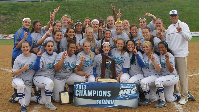 Champions! Softball Wins First Northeast Conference Title