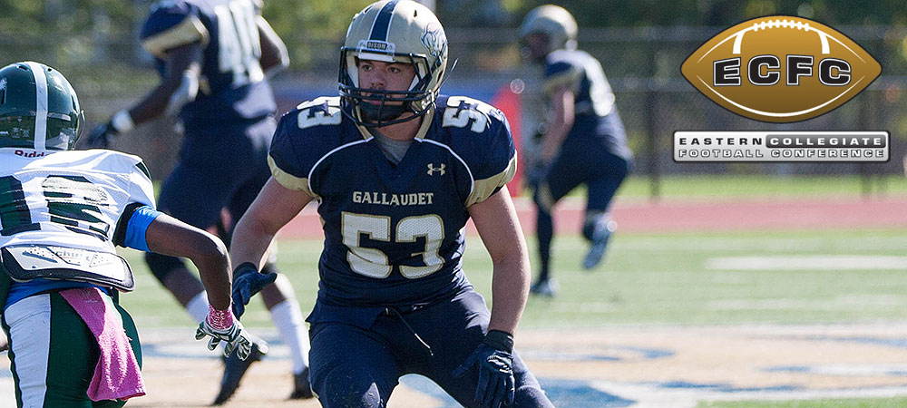 McConville, Santiago highlight Gallaudet's ECFC All-Academic team selections