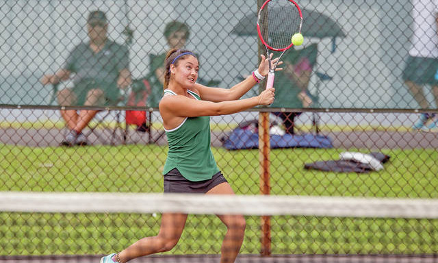 WOMEN'S TENNIS SIGNS TOP HAWAIIAN STUDENT-ATHLETE TAYVIA YAMAGATA