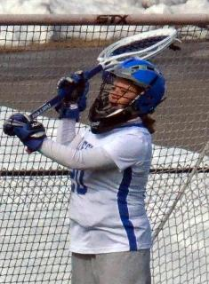 Wellesley Lacrosse Cruises Past New England College