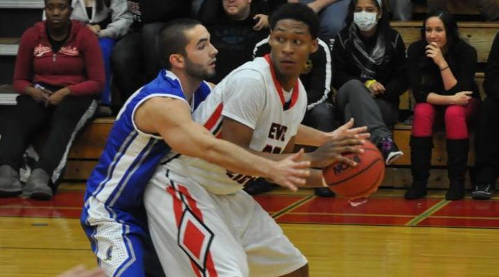 Men's Hoops Eases Past Endicott to Notch Sixth-Consecutive Win