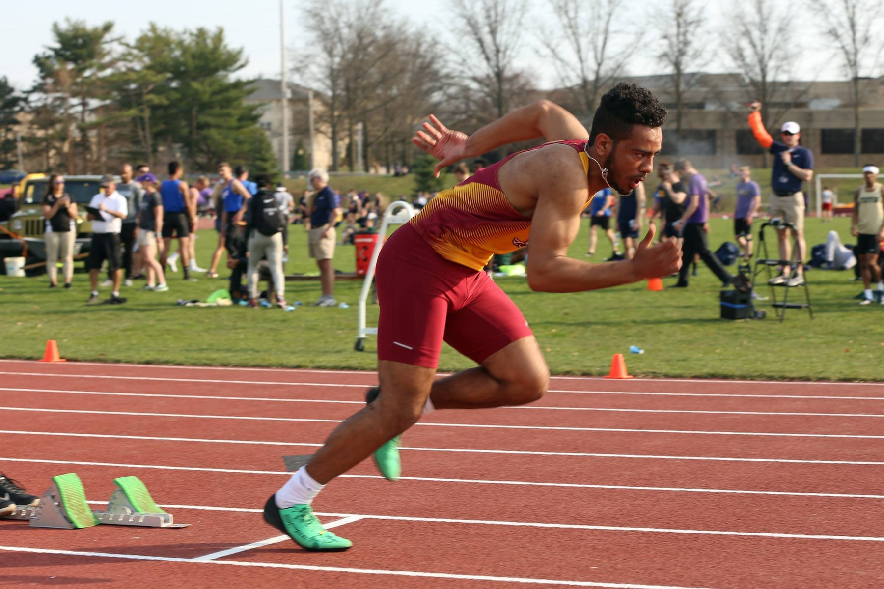 Men's Track & Field Excels at Otterbein's Twilight Invitational