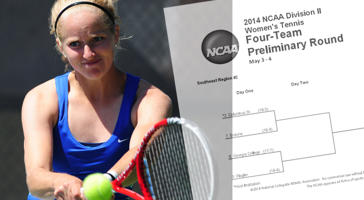 GC Women's Tennis Starts NCAA Regional Sunday