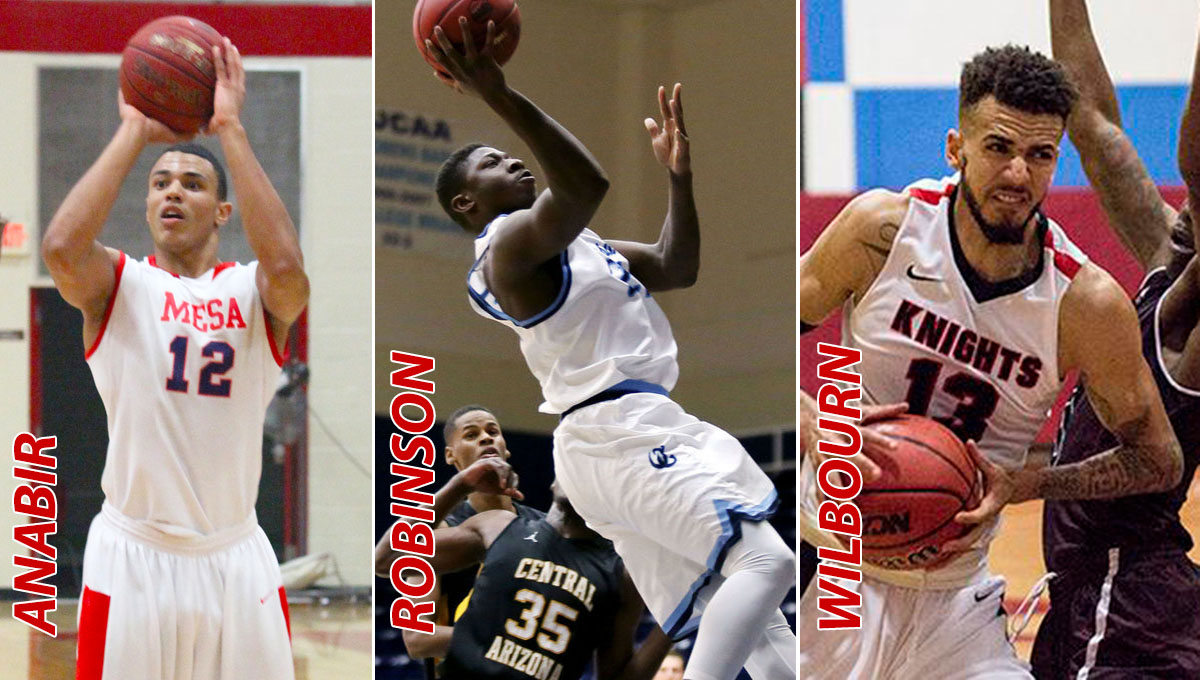 Men's Basketball Signs Trio of Frontcourt Recruits for 2017-18